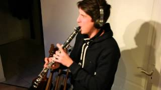 Clarinet and 8 String Guitar Jam - Morgan Reid and Billy Schmidt