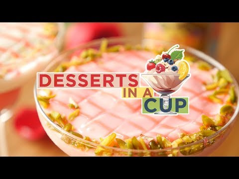 Desserts in a Cup – Recipes by Food Fusion