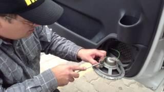 Как снять дверную ручку Citroen Jumpy | Removing door handle