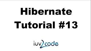 Hibernate Tutorial #13   Save A Java Object   Part 1
