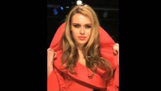Ksenia Sukhinova (Miss World 2008) Downtown LA Fashion Week Spring 2010 Vintage Valentino for MOCA