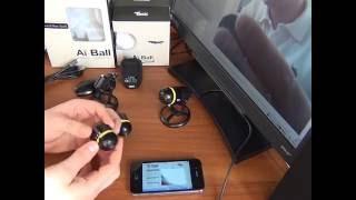 Ai-Ball - беспроводная Wi-Fi миникамера  - SpecAgent.RU