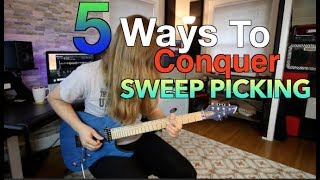 5 Ways To Conquer Sweep Picking (With Tabs)