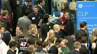 Record Turnout At MSU Job Fair
