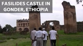 preview picture of video 'Tour of Fasilides Castle | Part 1 [Gonder, Ethiopia] #FasilCastle'