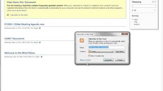 CGNET Tutorials: Setting Alerts in SharePoint Online