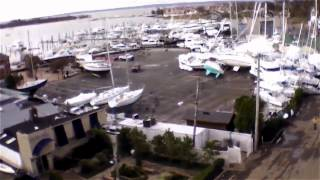 preview picture of video 'Hurricane Sandy Damage from Above: Great Kills Harbor, Staten Island Part One'