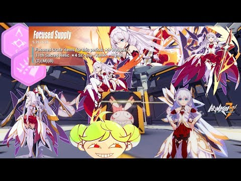 Honkai Impact 3 - Over 20,000 Crystals for 11th Sacred Relic