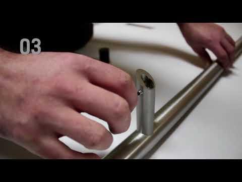 Stoßgriff / Handgriff / Stangengriff - Selber Montieren