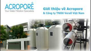 Giới thiệu Acropore & Công ty TNHH Verall Việt Nam