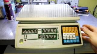 Весы электронные rapala с сенсор экр и памятью 25 кг