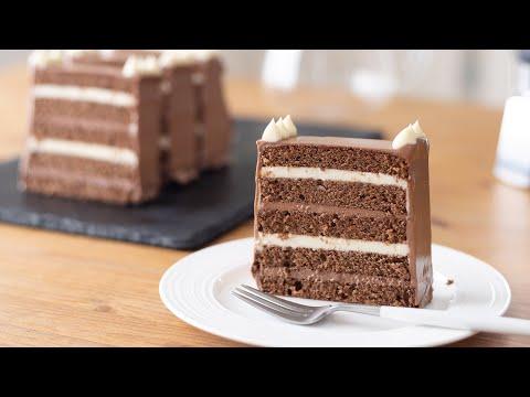 巧克力奶油克林姆蛋糕的做法