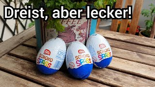 Ü-Eier von LIDL Mister Choc Schoko Spass | So gut wie das Original? | FoodLoaf