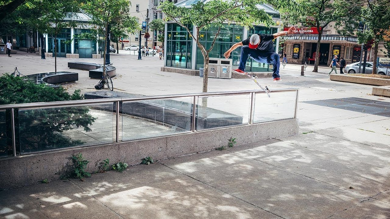 TJ ROGERS - REDBULL HOMECOMING RAW FOOTAGE - Jordan Moss