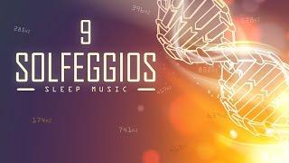 All 9 Solfeggio Frequencies | A Sleep Meditation Music Playlist