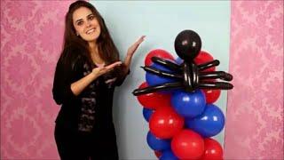 Neste vídeo você aprende passo a passo a fazer uma coluna espiral de 2 cores que não precisa de nenhuma estrutura para ficar em pé!!! Fica incrível!!!! A coluna do vídeo foi feita nas cores do tema: Homem Aranha. Faça nas cores do seu tema essa linda decoração com balões!!! www.amofesta.com