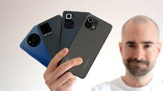 Xiaomi Poco X3 Pro vs Xiaomi Mi 11 Lite vs Xiaomi Redmi Note 10 Pro vs Realme 8 Pro - Best Budget Phones 2021 Compared!