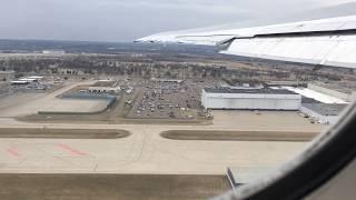 Delta Airlines MD-88 Minneapolis-Saint Paul to Detroit (Full Flight)