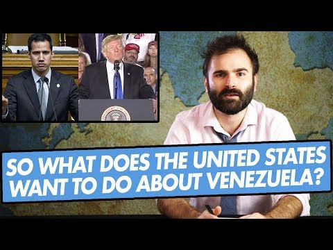 So What Does The United States Want To Do About Venezuela? - SOME MORE NEWS