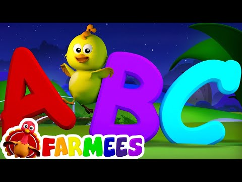 ABC Song | Nursery Rhymes | 3D Baby Songs | Alphabet Rhyme by Farmees