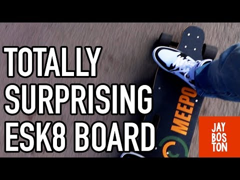 MEEPO ELECTRIC SKATEBOARD – FIRST RIDE REVIEW