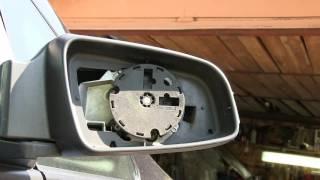 Opel Zafira B 1.9 CDTI Снятие крышки зеркала