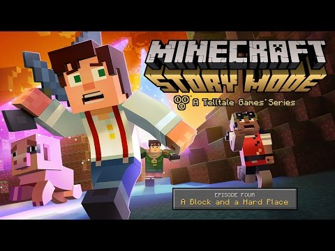 Minecraft: Story Mode - Episode 4 'Wither Storm Finale' Trailer thumbnail
