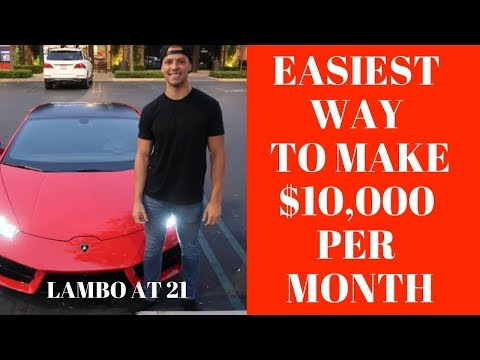 The ABSOLUTE EASIEST Way To Make Money Online As A BROKE TEENAGER With NO EXPERIENCE In 2017