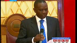 Former TNA SG, Onyango Oloo elected as Kisumu speaker of national assembly