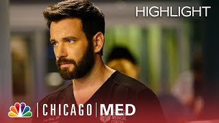 What Did He Tell You?   Chicago Med (Episode Highlight)