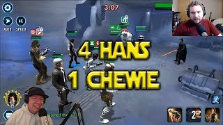 Star Wars: Galaxy Of Heroes - 4 Hans 1 Chewie - Have You Ever Wondered?