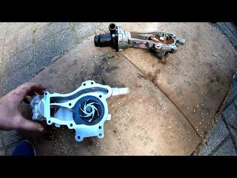 Opel Meriva b 1.4 Wasserpumpe wechseln Corsa Astra J