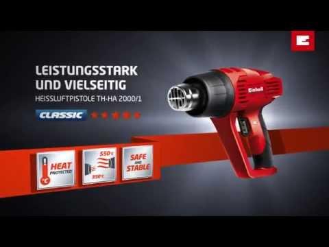 Einhell TH-HA 2000/1 Heissluftpistole