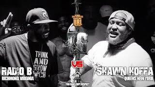RADIO B VS SHAWN HOFFA | URLTV