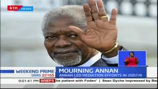 Kofi Annan dies at the age of 80