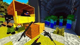 ОПЕРАЦИЯ БУНКЕР! СЕКРЕТНО! ДЕНЬ 17. ЗОМБИ АПОКАЛИПСИС В МАЙНКРАФТ! - (Minecraft - Сериал)