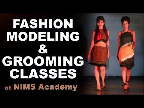 Fashion Modelling Classes: NIMS Academy - YouTube