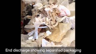 Depackaging Mixed Grocery Waste – Composting