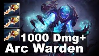 Arc Warden 1000+ DMG 3x Rapier Tactic Dota 2