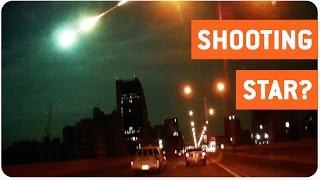 Shooting Star Illuminates the Sky | Alien Invasion?