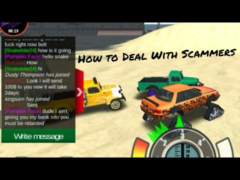 Offroad Outlaws How To Deal With Scammers In Multiplayer (Dude Was Dumb)