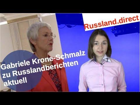 Gabriele Krone-Schmalz zur Russlandberichterstattung aktuell [Video]
