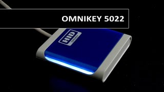 Omnikey 5022 USB Contactless 13.56Mhz Reader Video