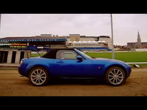 MX5 vs Greyhound challenge – Top Gear – BBC