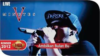 Five Minutes - Ambilkan Bulan Bu [Live Konser] At Bandar Lampung, 3 Maret 2012