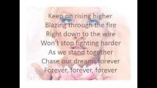 Christina Aguilera- Light up the sky (lyrics on screen)