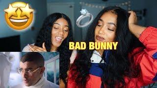 (REACTION) Si Estuviésemos Juntos - Bad Bunny ( Video Oficial ) *NEW*