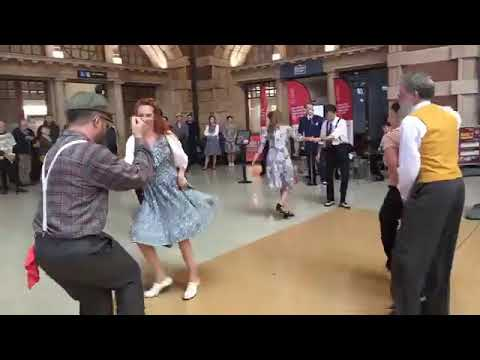 On the Sunny Side of the Street – Live with Swing Dancers