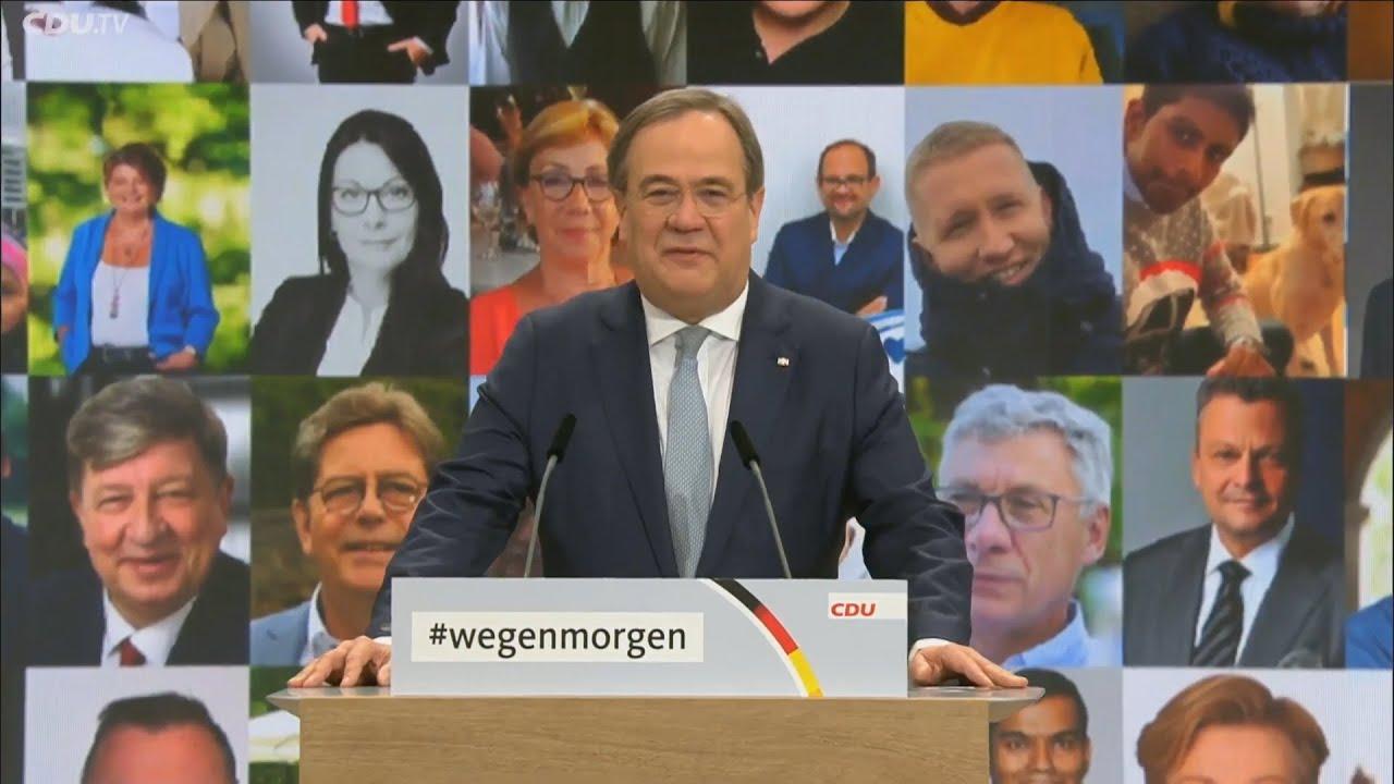 Ο Άρμιν Λάσετ εξελέγη νέος Πρόεδρος του CDU – Αντιπροσωπεία της ΝΔ στο ψηφιακό συνέδριο