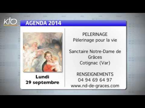 Agenda du 22 septembre 2014